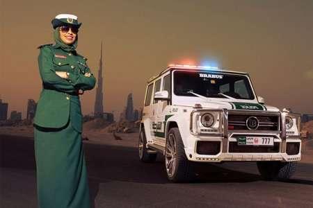 Необычный полицейский транспорт