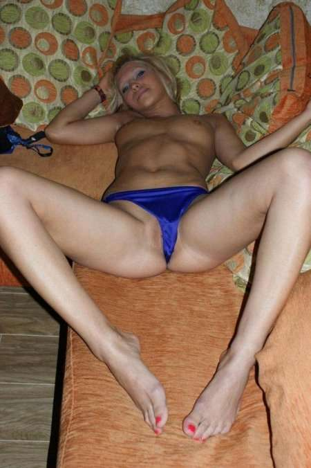 раздвинула ноги