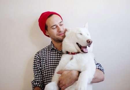 Приключения человека и собаки