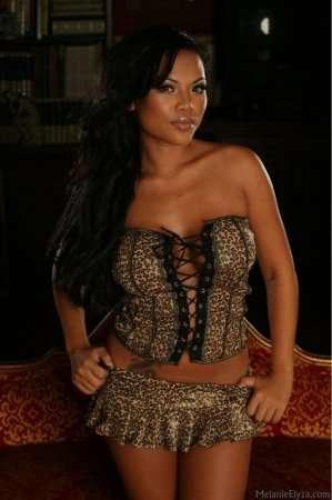 Индианка в тигровом костюме