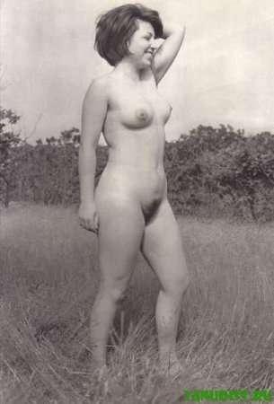 ретро фото нудистки