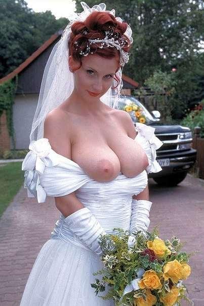большие сиськи невесты