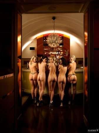 Закрытая вечеринка немецкого Playboy