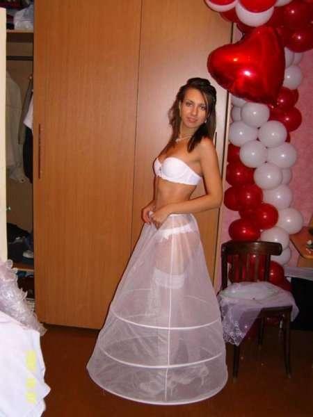 обнаженная невеста
