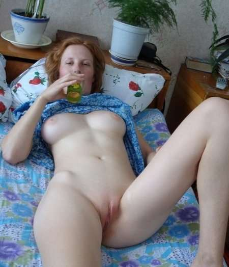 выбритая киска жены