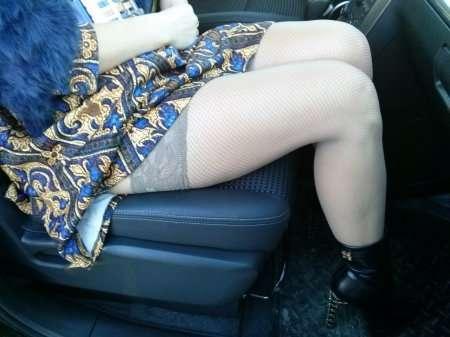ножки в чулочках