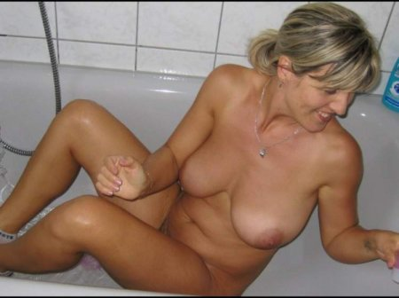 в ванной