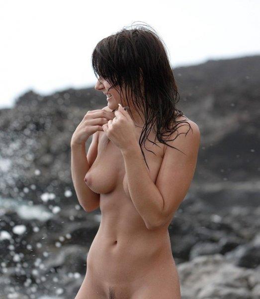 Пляжная клубничка