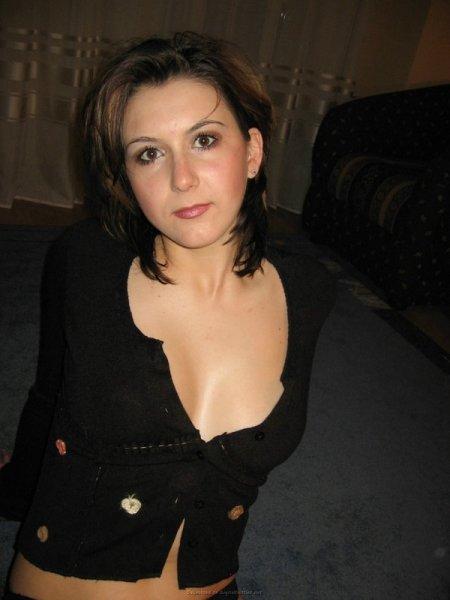Домашняя фотосессия бывшей жены