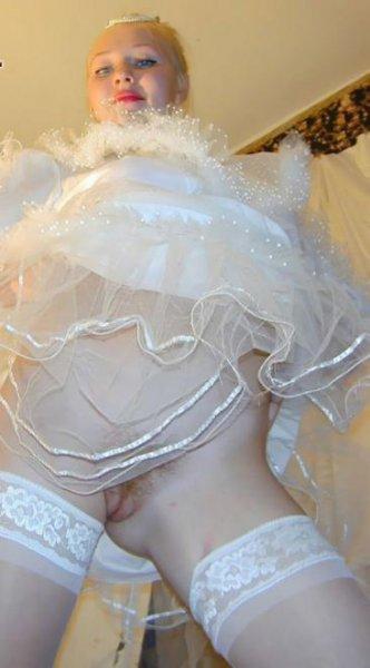 Невесты перед свадьбой решили пошалить