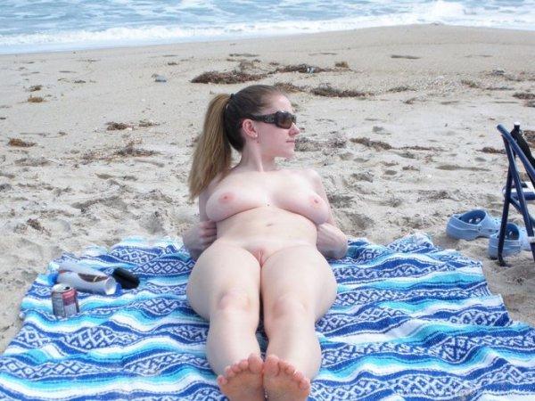 Засветы на пляже