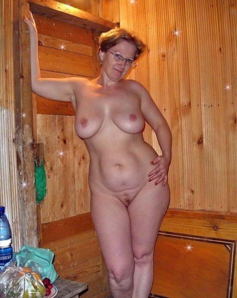 Зрелые бабы в бане