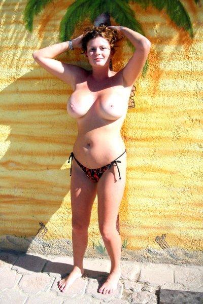 Бабы с большими сиськами на пляже