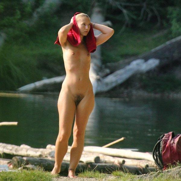 Откровенные фото нудистов на природе