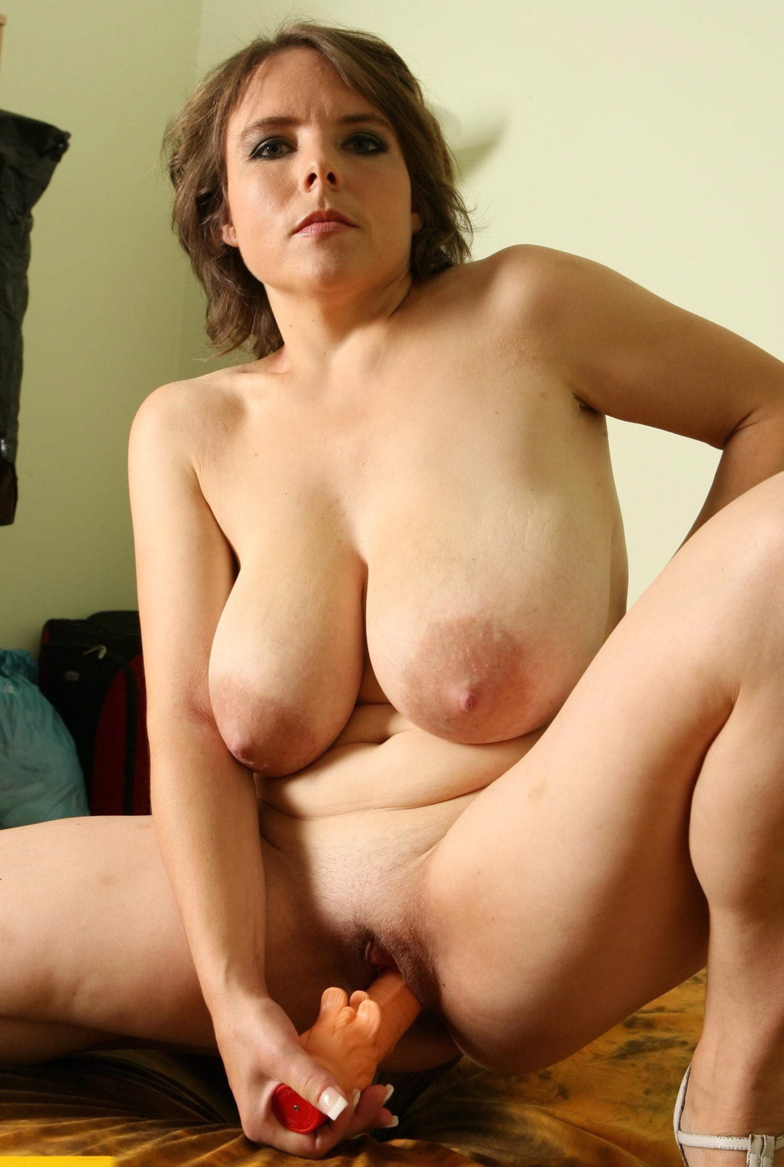 Gorgeous mother with perfect big breasts
