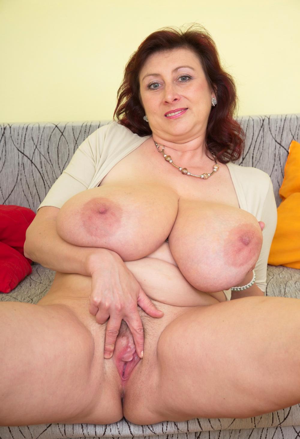 Mature Big Breast Blowjob