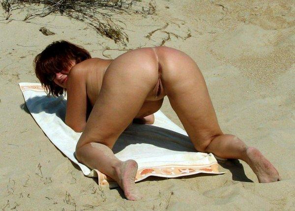 Зрелые чики на пляже