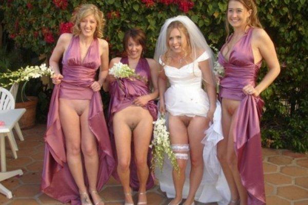 Частные фото голых зрелых невест