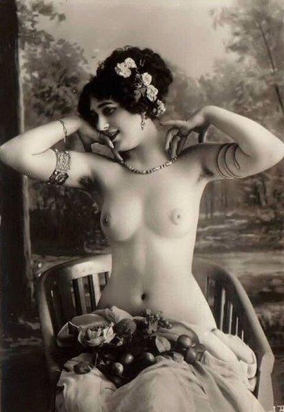 Винтажная эротика 1900 года