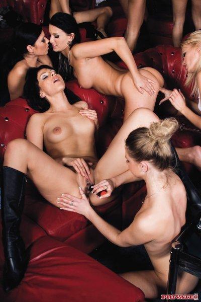 Приватная вечеринка девушек