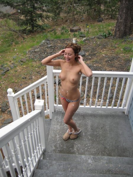 Откровенные фото одной нудистки