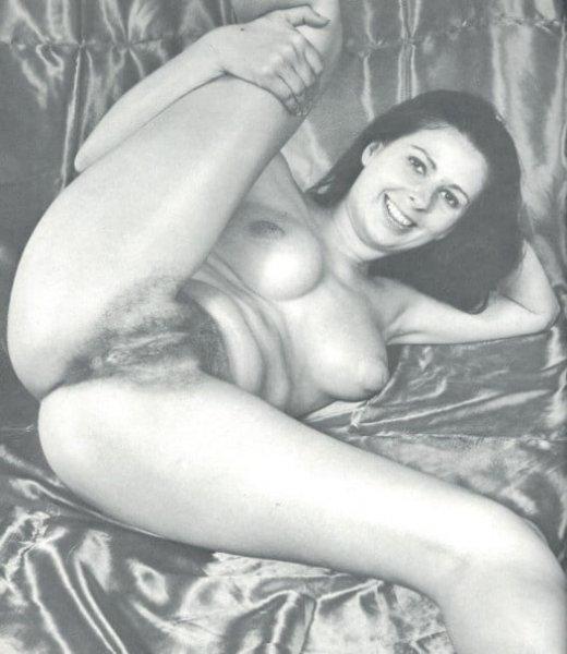 Черно белое ню 70-х