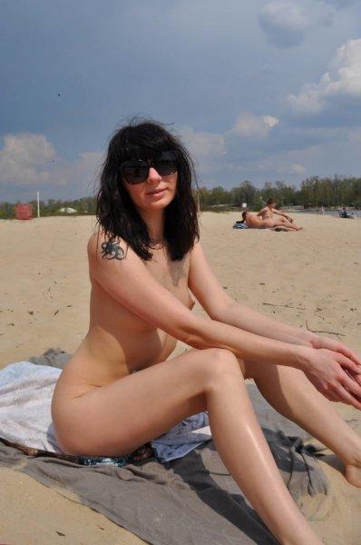 Ukrainian nudists